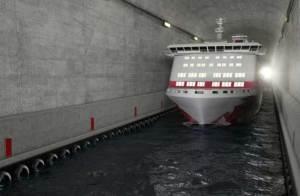 أول نفق للسفن في العالم