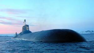 غواصة دميتري دونسكوي الذرية الروسية