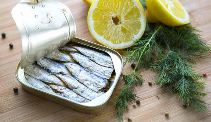 واظبي على تناول سمك السردين