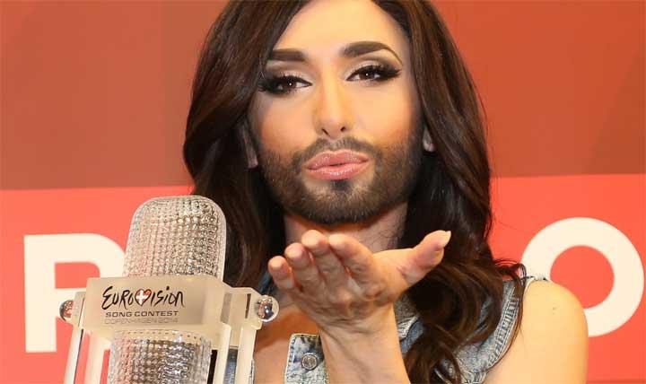 المرأة الملتحية ترفض الغناء في مهرجان دولي من أجل السوريين