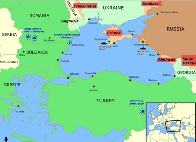 """العثور على """"مقبرة السفن"""" في أعماق البحر الأسود"""
