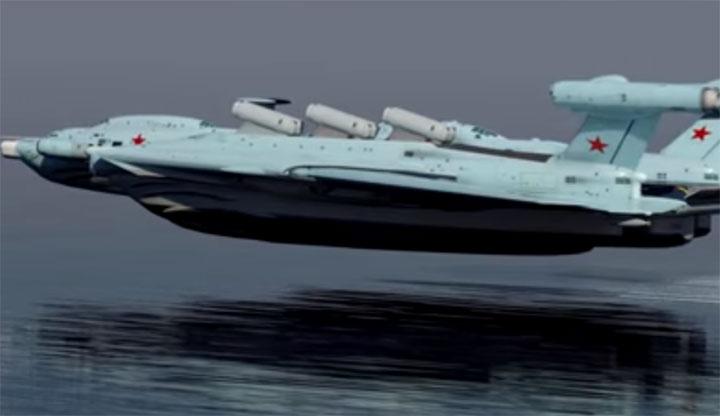 """""""الرغوة المائية"""" تغير فيزياء الطيران فوق الماء"""