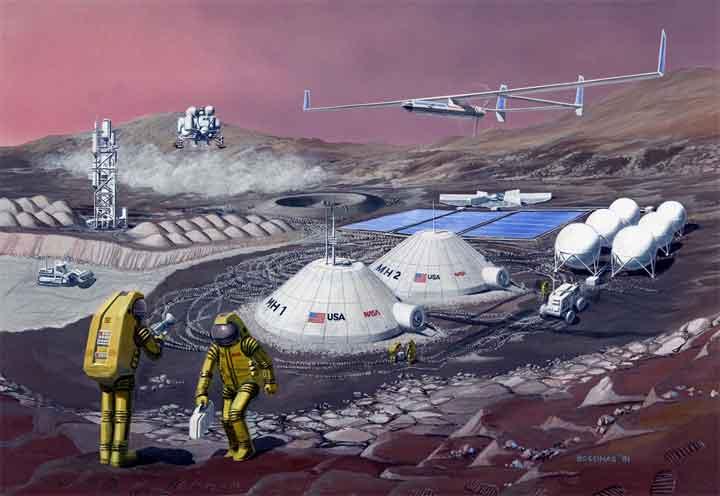 الإنسان سيغزو المريخ خلال 20 عاما
