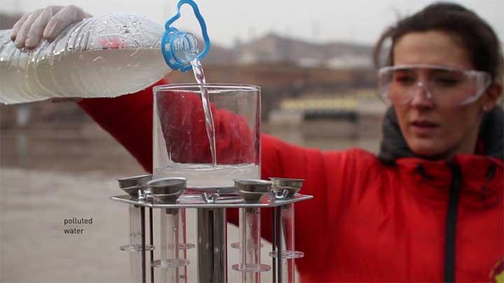 أسهل وأرخص وأسرع طريقة لتنقية المياه