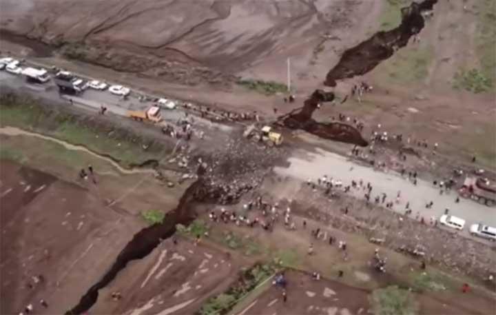زلزال قد يشقّ إفريقيا نصفين