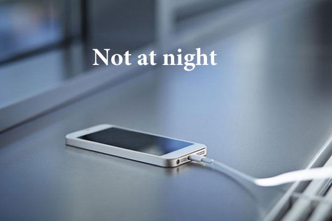 توقفوا الآن عن شحن هواتفكم ليلا
