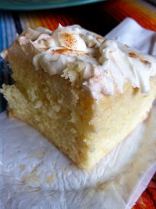 Tres Leches Cake. Oh. Yeah.