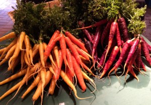 Jeweled carrots.