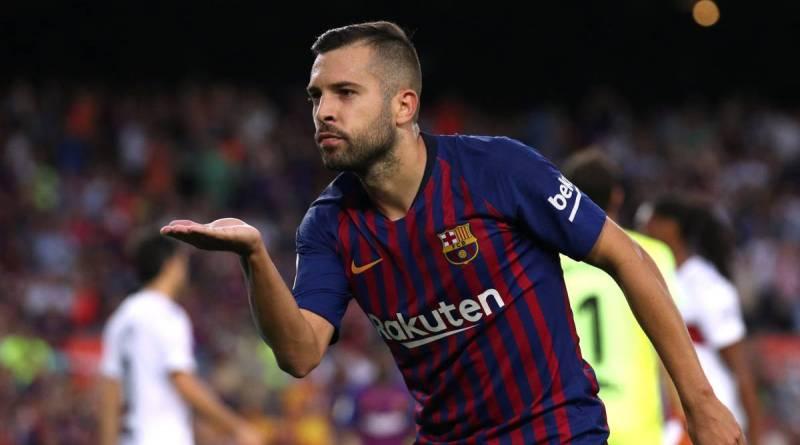 Ditawari Kontrak Baru, Jordi Alba Tetap Berseragam Barcelona?