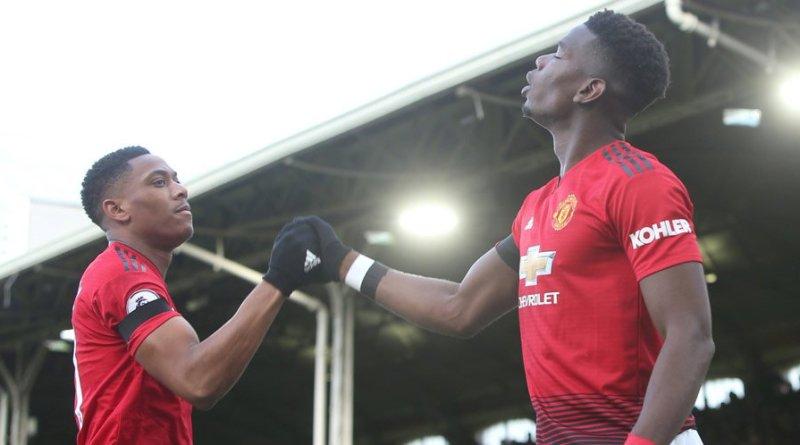 Hasil Pertandingan Fulham Melawan Manchester United : Pogba Tampil Bersinar Kembali
