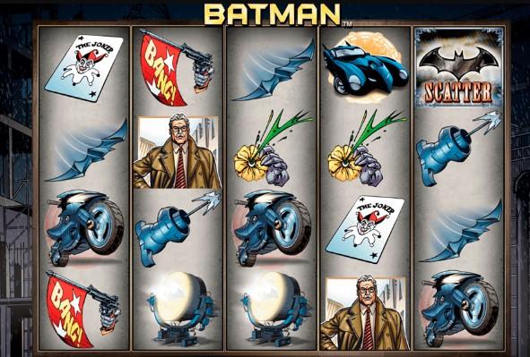 Slot Batman Bonus Member Baru Besar