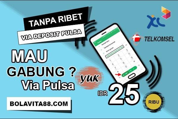 Judi Slot Online Deposit Pulsa murah