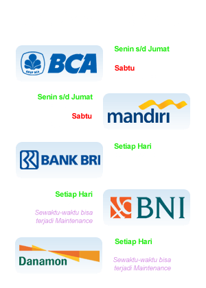 jadwal bank slot