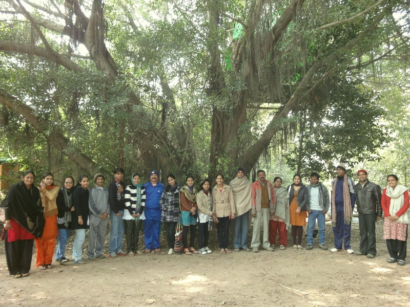 Teachers from Western Uttar Pradesh congregated for an Art Camp (1/5)