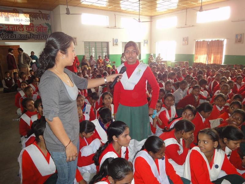 Central American Students trail blaze in Bihar! (2/6)