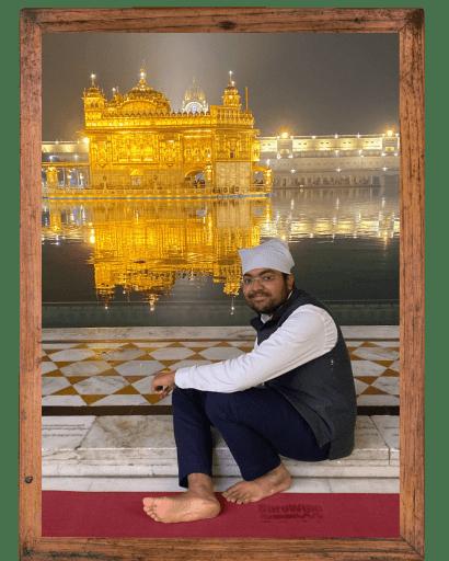 At Golden Temple in Amritsar, Punjab, India - Tarun Goyal