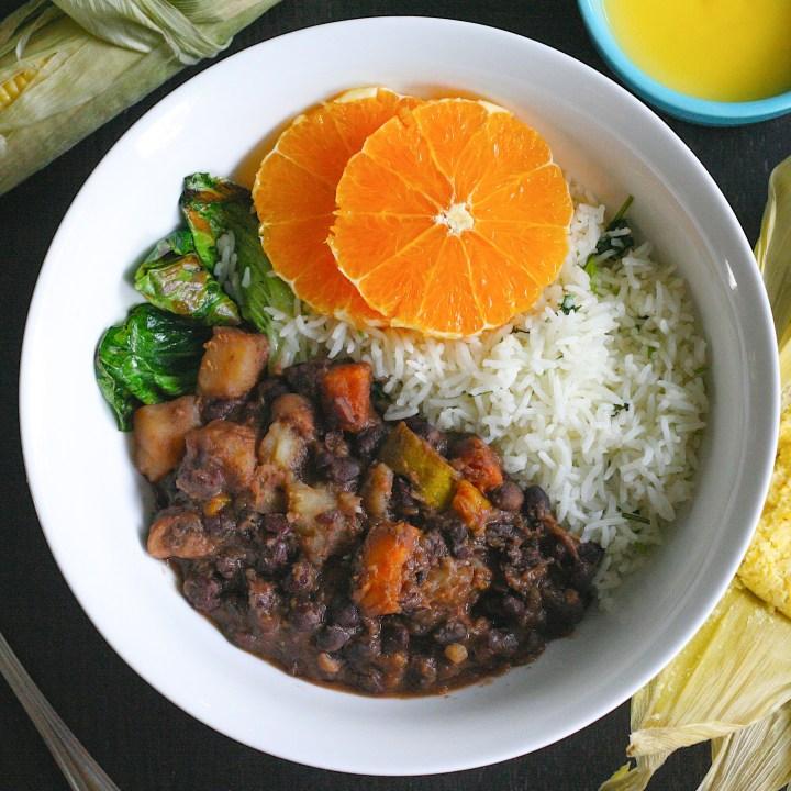 Feijoada: Vegan Rice and Beans from Brazil