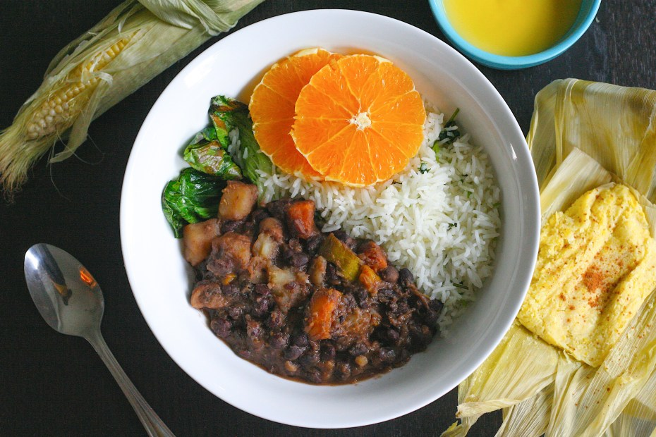 Feijoada: Vegan Rice and Beans from Brazil