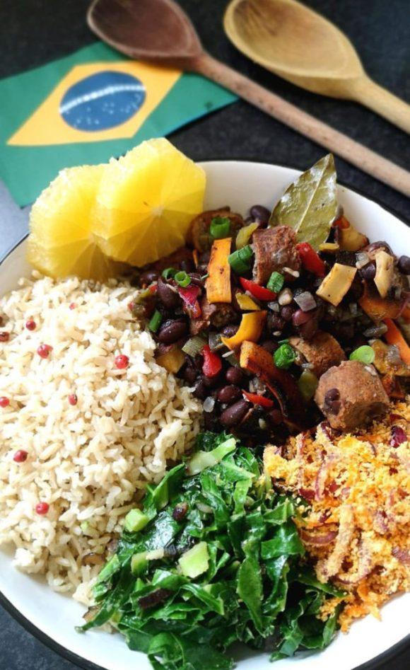 Feijoada: Vegetarian Rice and Beans from Brazil