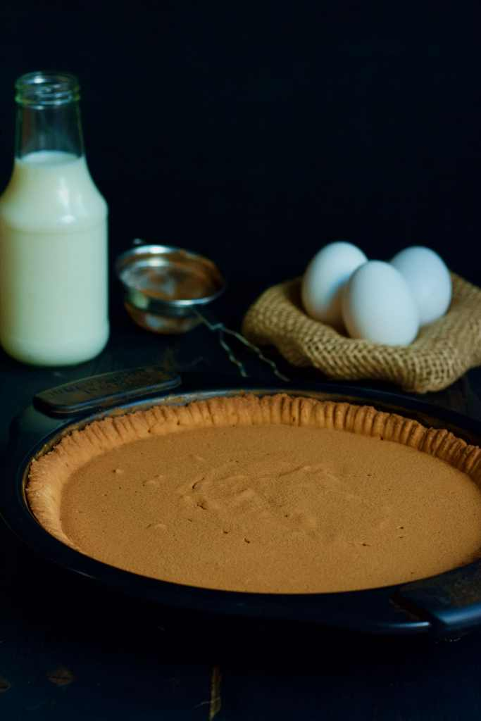 Simple South African Pie recipe Melktert