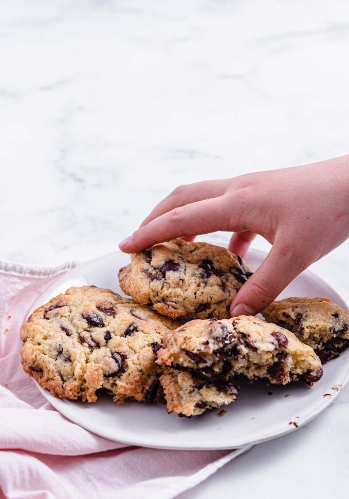 NY Style Giant Double Choc Chip Cookie
