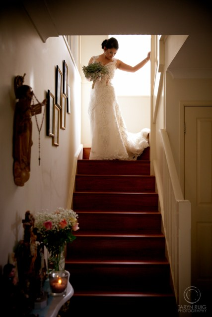 bride-standing-on-stairs
