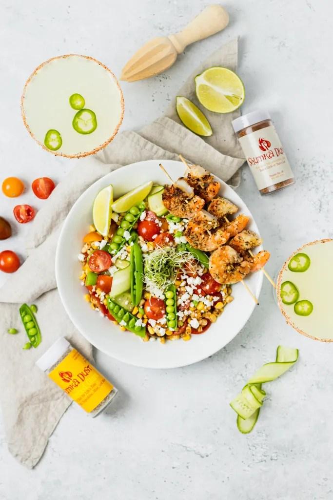 Summer Corn Salad with Shumka Dust