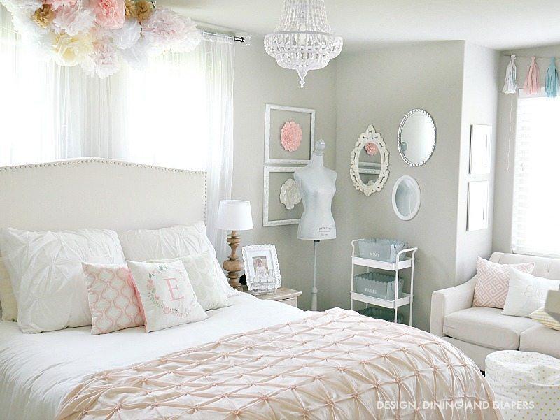 Whimsical Little Girls Room Reveal Taryn Whiteaker