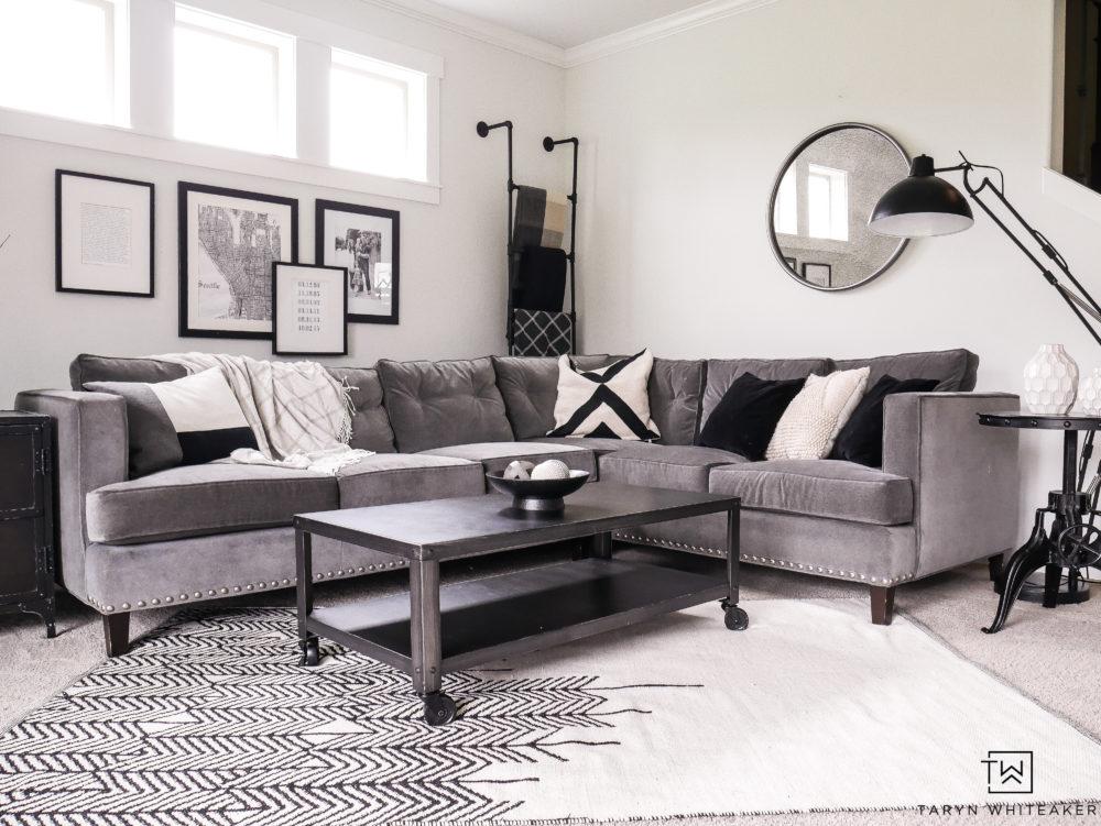 living room corner sectional taryn