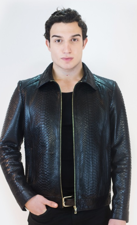 Men's Leather Jacket Combinations