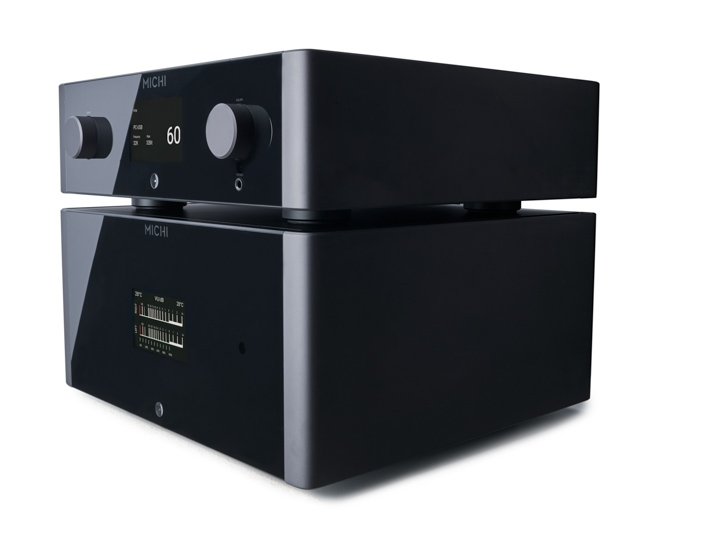 Michi P5 preamplifier and S5power amplifier