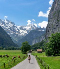 Petite balade dans la vallée de Lauterbrunnen