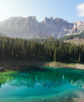 Le sublime lac de Carezza