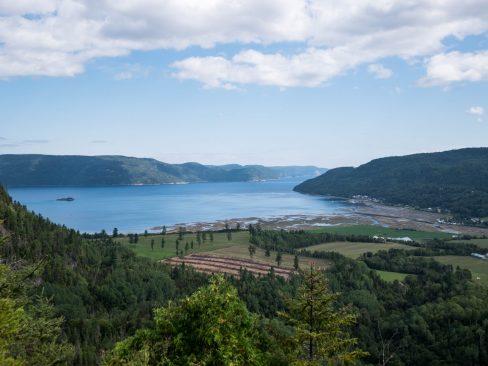 Quand on commence à voir le Fjord