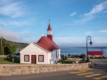 Petite église de Tadoussac