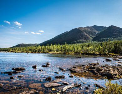 Le lac du Diable au cœur du parc de la Gaspésie