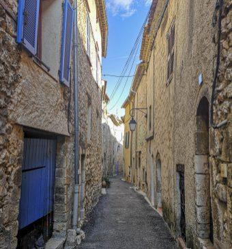 Les rues de Bauduen !