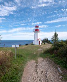 Magnifique phare au Gap Gaspé