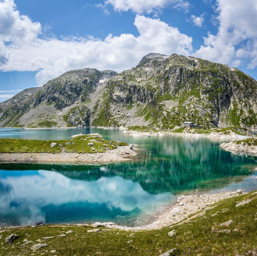 L'un des lacs des 7 laux dans Belledonne
