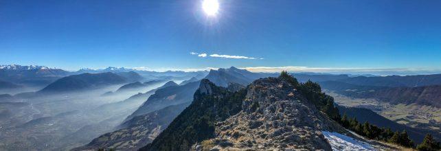 Panorama sur le Vercors depuis le Moucherotte