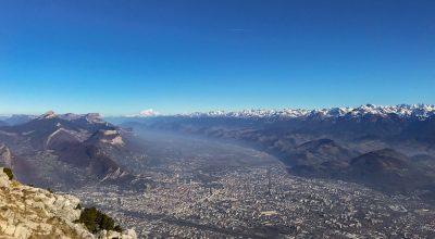Grenoble depuis le Moucherotte