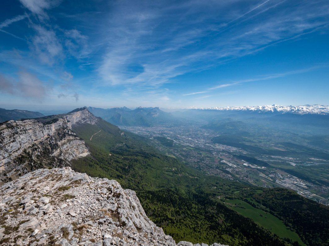 Grenoble depuis le Pic Saint Michel