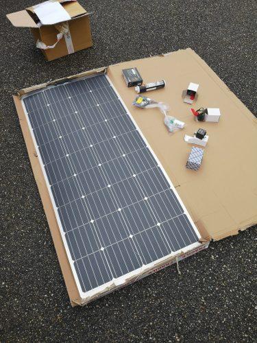 Le panneau solaire de 160 watts