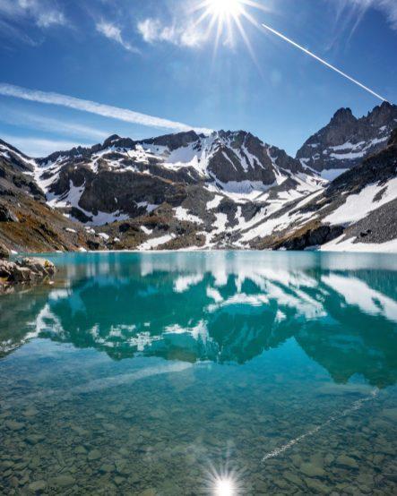 Le fameux lac Blanc et sa couleur extraordinaire