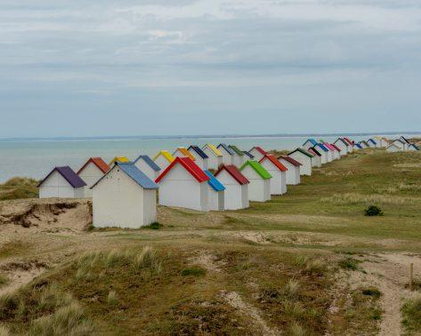 Les cabanes de Gouville sur Mer