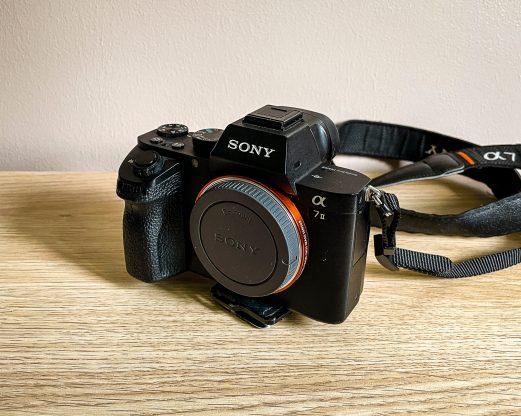 Le boitier Sony A7ii