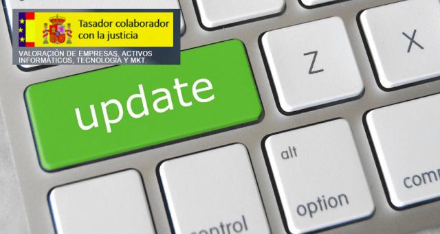 Tasación informática-Informe de vida util de software