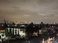 Wide shot of Los Angeles - View from my balcony