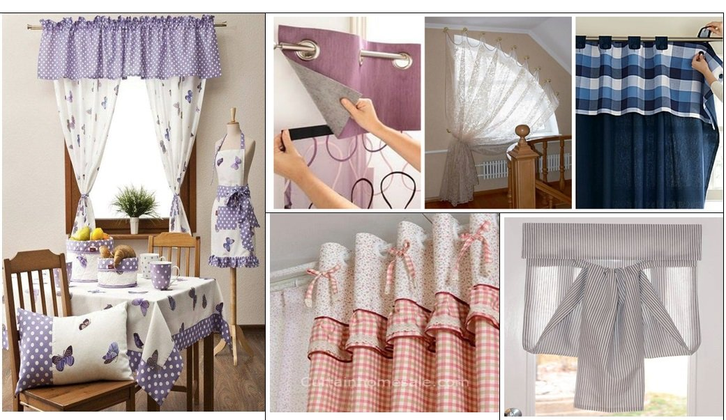 kitchen curtains choosing from the
