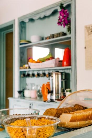 Desayuno: Frutas, Te, Café, Leche, Yogur